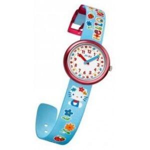 EUC Hello Kitty Flik Flak Swatch Watch